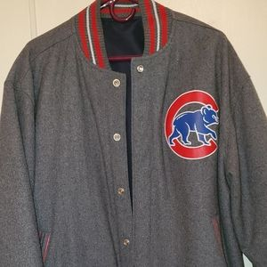 Reversable Chicago Cubs Jacket